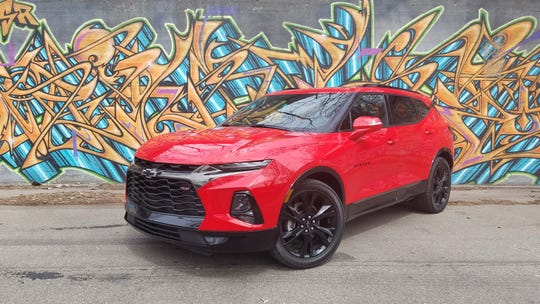 The 2019 Chevy Blazer SUV starts just under $30,000 with FWD. Load it it up with options and the sporty RS trim (pictured) and it can run over $50,000.