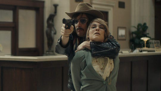 """Ethan Hawke and Noomi Rapace in """"Stockholm."""""""