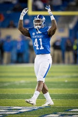 Former Kentucky star Josh Allen would give the Lions a young pass rusher to pair with new addition Trey Flowers.