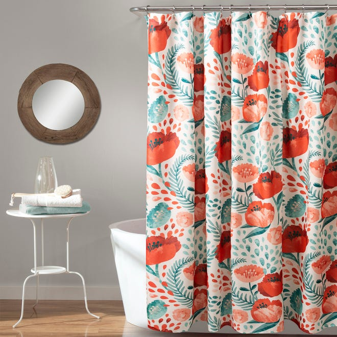 Give your home a spring-like feel with floral patterns inspired by nature.