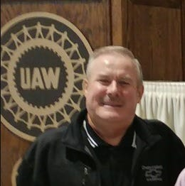 Former UAW official Mike Grimes.