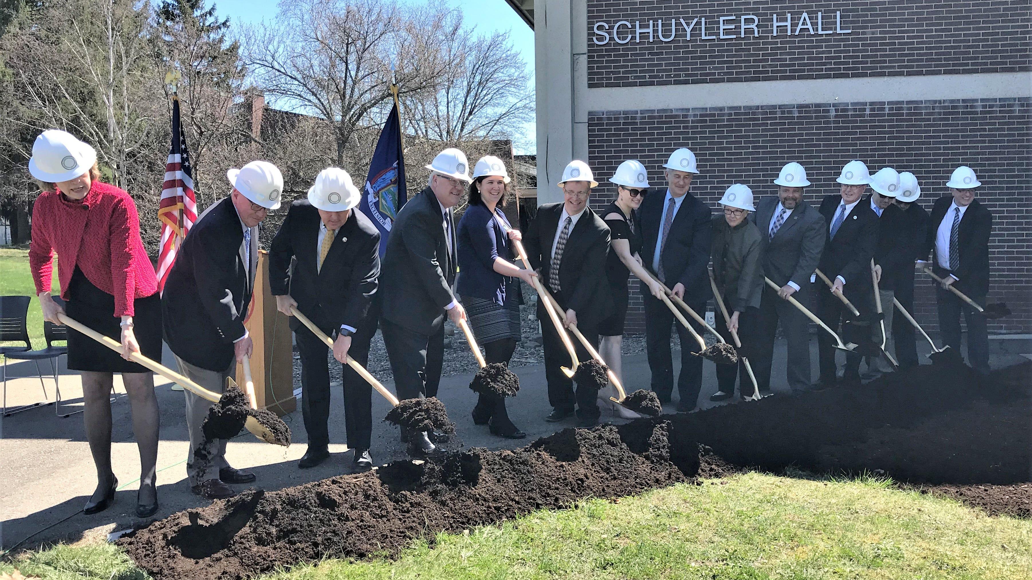 Corning Community College breaks ground on new innovation center