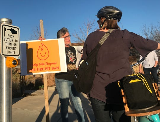 Residents petition to undo Fort Collins City Council's curfew on backyard fire pits