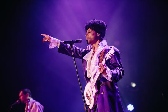 Jason Tenner plays Prince in the tribute show Purple Reign