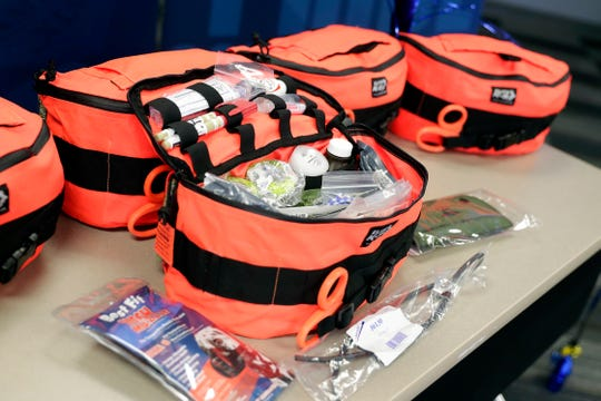 Following the near fatal stabbing of Green Bay police dog Pyro, the department received a donation of trauma kits for all its handlers. The kits are credited with helping to save Pyro.