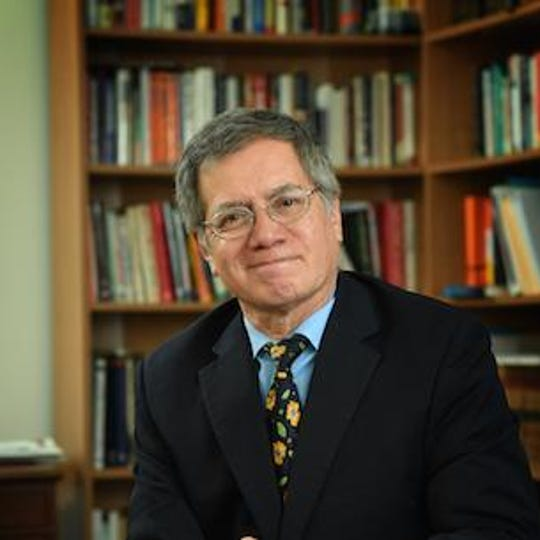 Hector Flores, president of the South Carolina Governor's School for Science & Mathematics