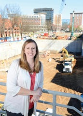 Senior Project Manager Kimberly Bailey has spent her entire 13-year career with Brasfield & Gorrie.