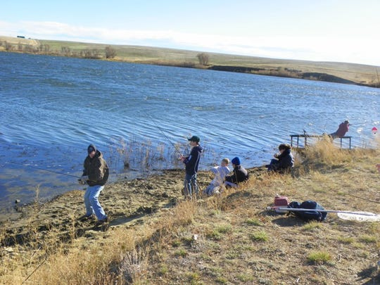 Bailey Reservoir is a popular Hi-Line fishing hole with kids and adults alike.
