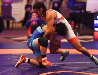 United World Wrestling Oceania Championships Day two Highlights at LeoPalace Resort Guam in Yona, April 21, 2019.