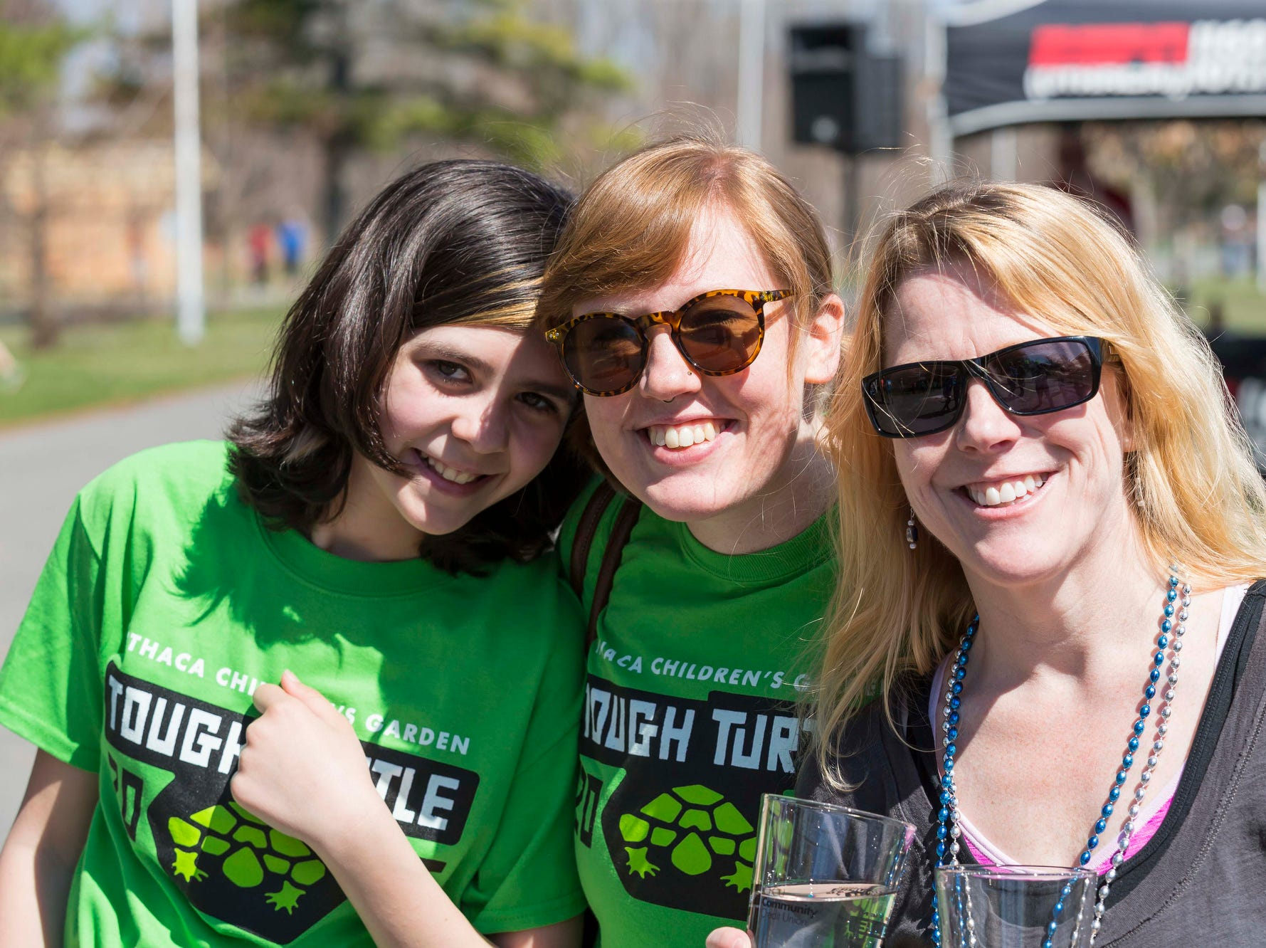 2016: Participants in the 2016 Tough Turtle 5K, a fundraiser for the Ithaca ChildrenÕs Garden.