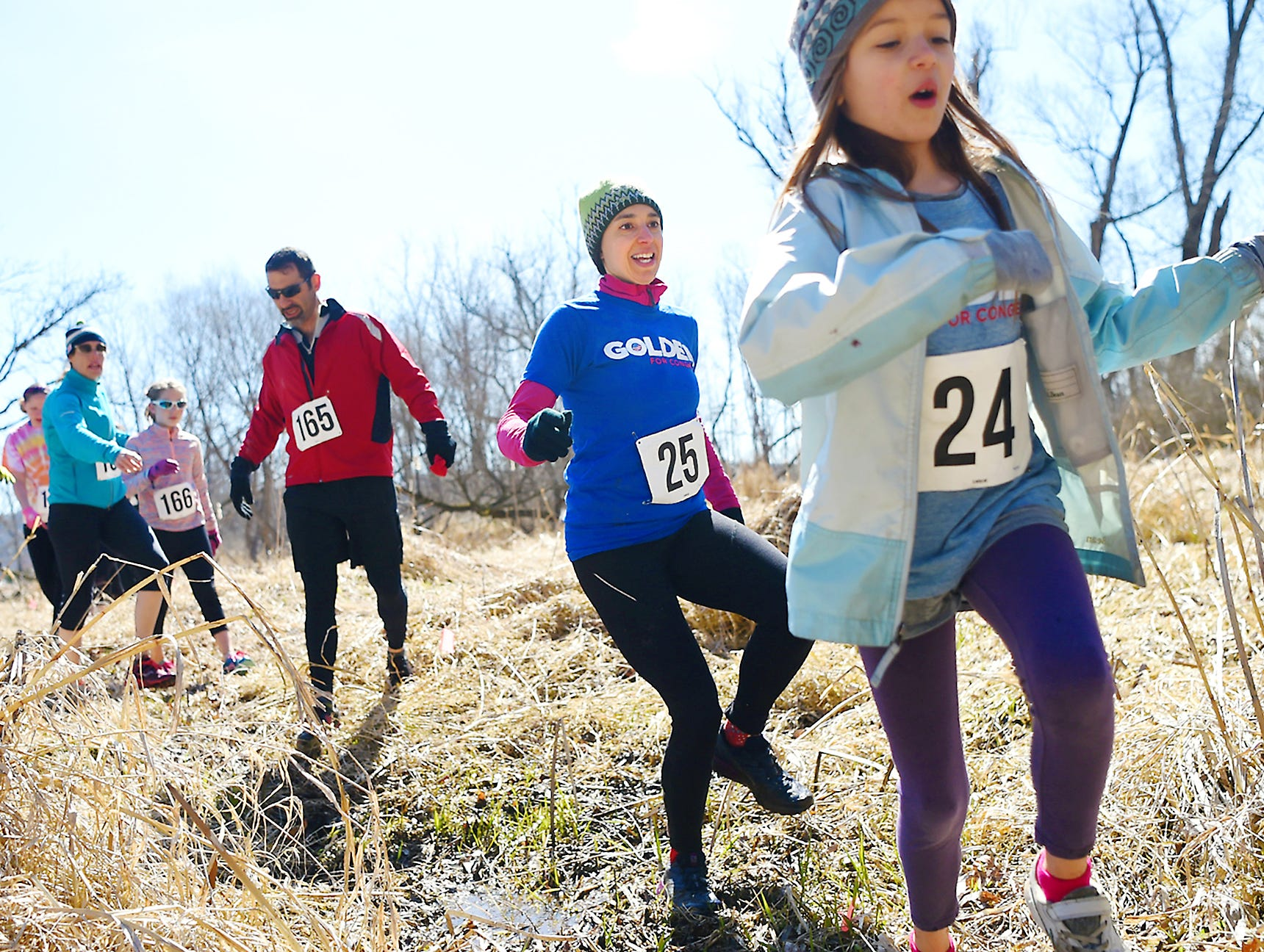 2018: Tough Turtle, an annual obstacle course fun run to benefit Ithaca's Children's Garden, held on Saturday at the Cayuga Waterfront and Black Diamond Trails.