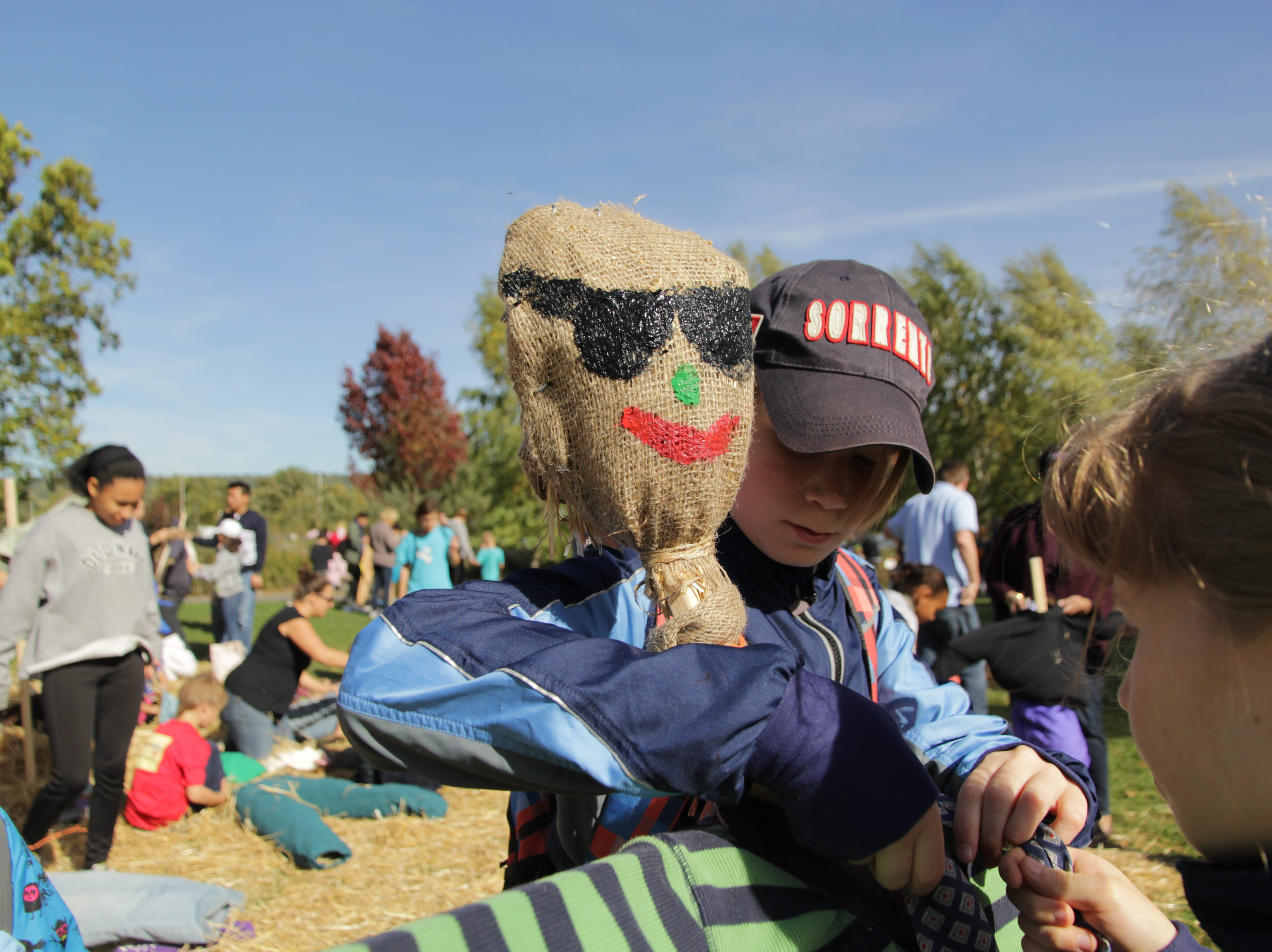 2016: The Scarecrow Jubilee returns Saturday at the Ithaca ChildrenÕs Garden.