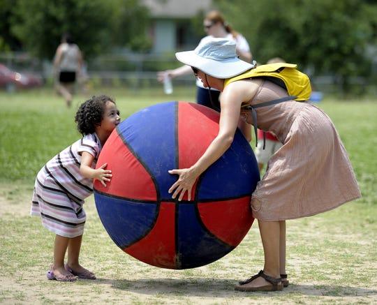 Scène des Jeunes offers kids fun activities to enjoy during Festival International de Louisiane in Lafayette.