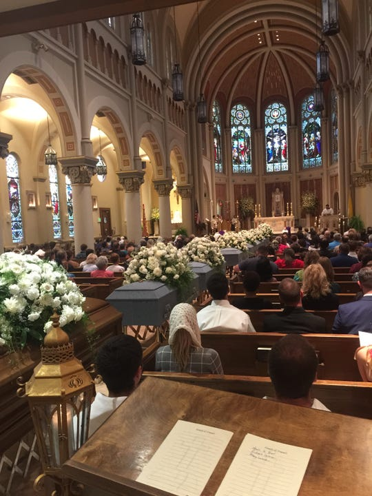 An annual group service held on All Souls' Day in November at the Cathedral of St. John the Evangelist.