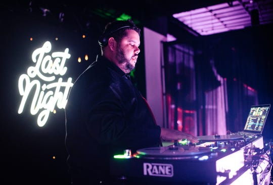DJ Digital performs during Last Night: A New Year's Eve Gala in Lafayette.  Photo courtesy of Clandestine Collective
