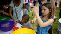 Scène des Jeunes, taking place this Saturday and Sunday from 11 a.m. to 4 p.m. at Festival International in Lafayette,is a free, kid-friendly area.