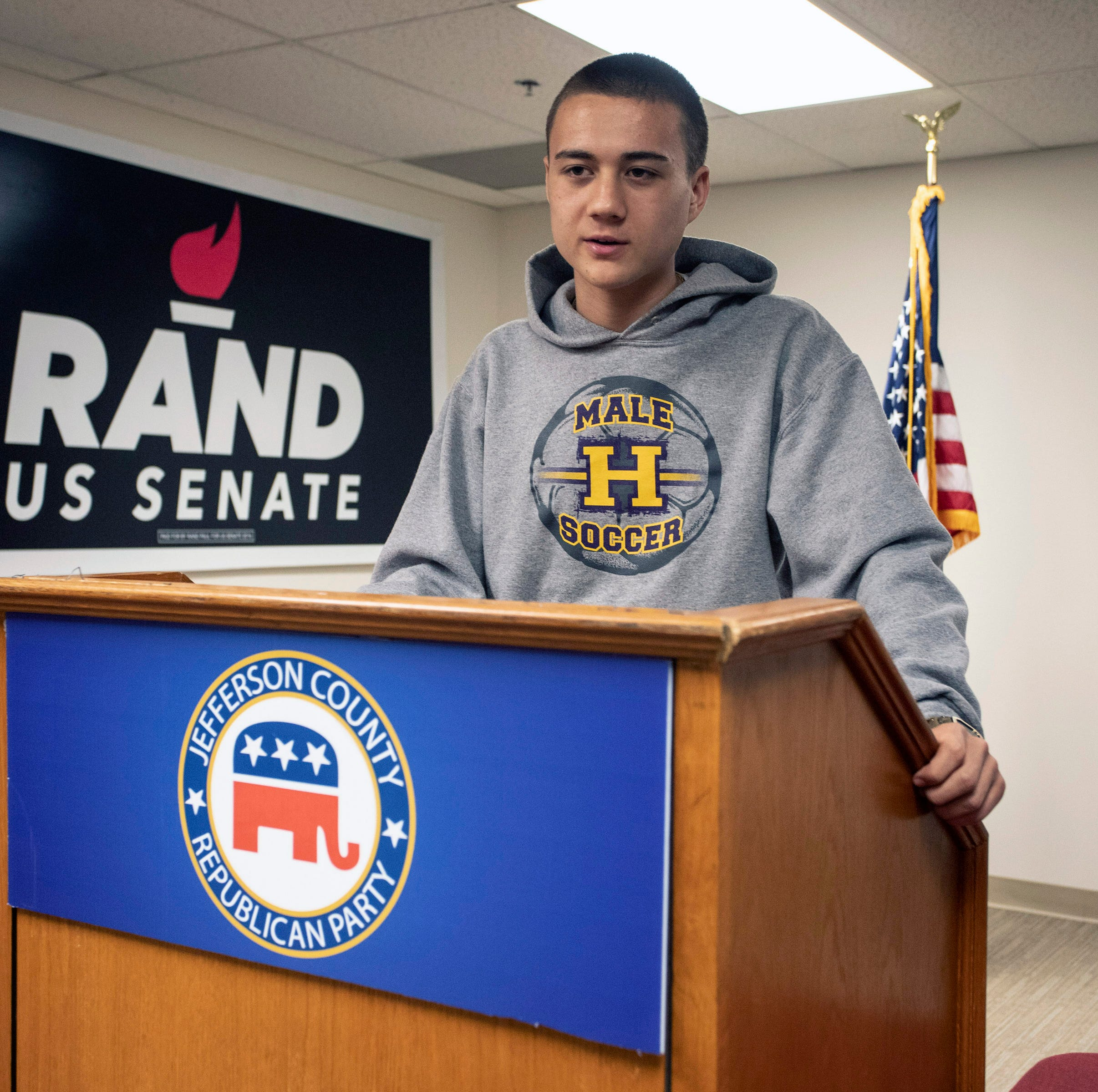 JCPS student starts Republican club with help from unexpected source: a Democrat