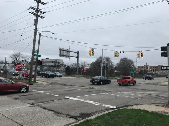 There were 69 crashes at the intersection of North Homer and East Saginaw streets in 2017, the most of any intersection in the county.