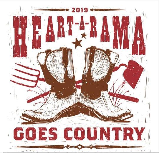 Heart-A-Rama's 2019 logo