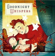 'Goodnight Whispers' book cover.
