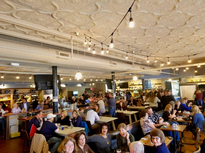 More than 200 people attended the Mansfield Ohio Networking event in March at the Dan Lew Exchange downtown. A networking benefit is hosted at the restaurant the final Thursday of each month.