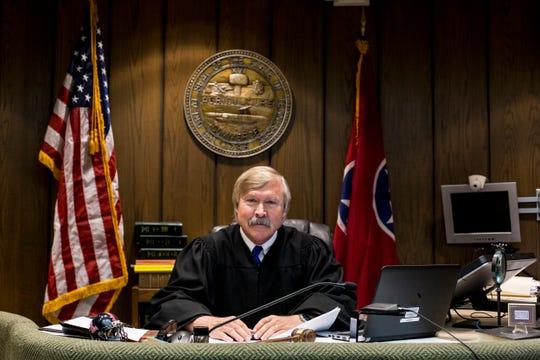 Criminal Court Judge Jim Lammey, April 22, 2019.