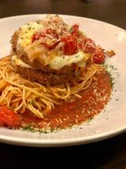 Parmigiana Di Melanzane is Ronnie Grisanti's spin on Eggplant Parmesan.