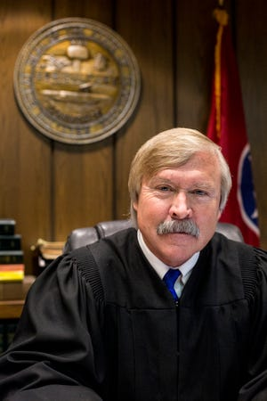 Criminal Court Judge Jim Lammey, April 22, 2019.