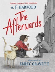 """The Afterwards"" by A.F. Harrold, illustrated by Emily Gravett."