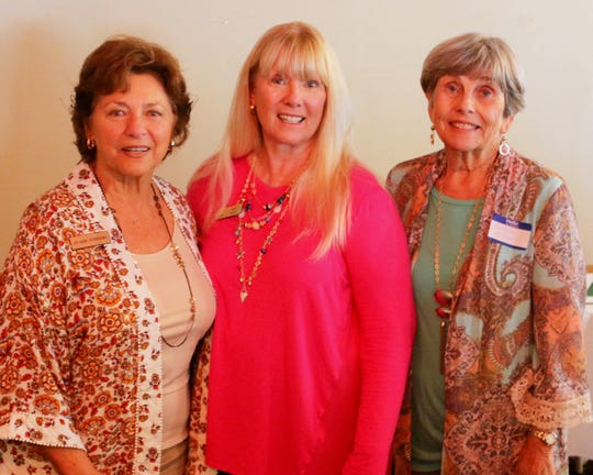AAUW scholarship committee, from left, Jo-Ann Ferrigno, Lynn Tuttle and Colleen Moser.