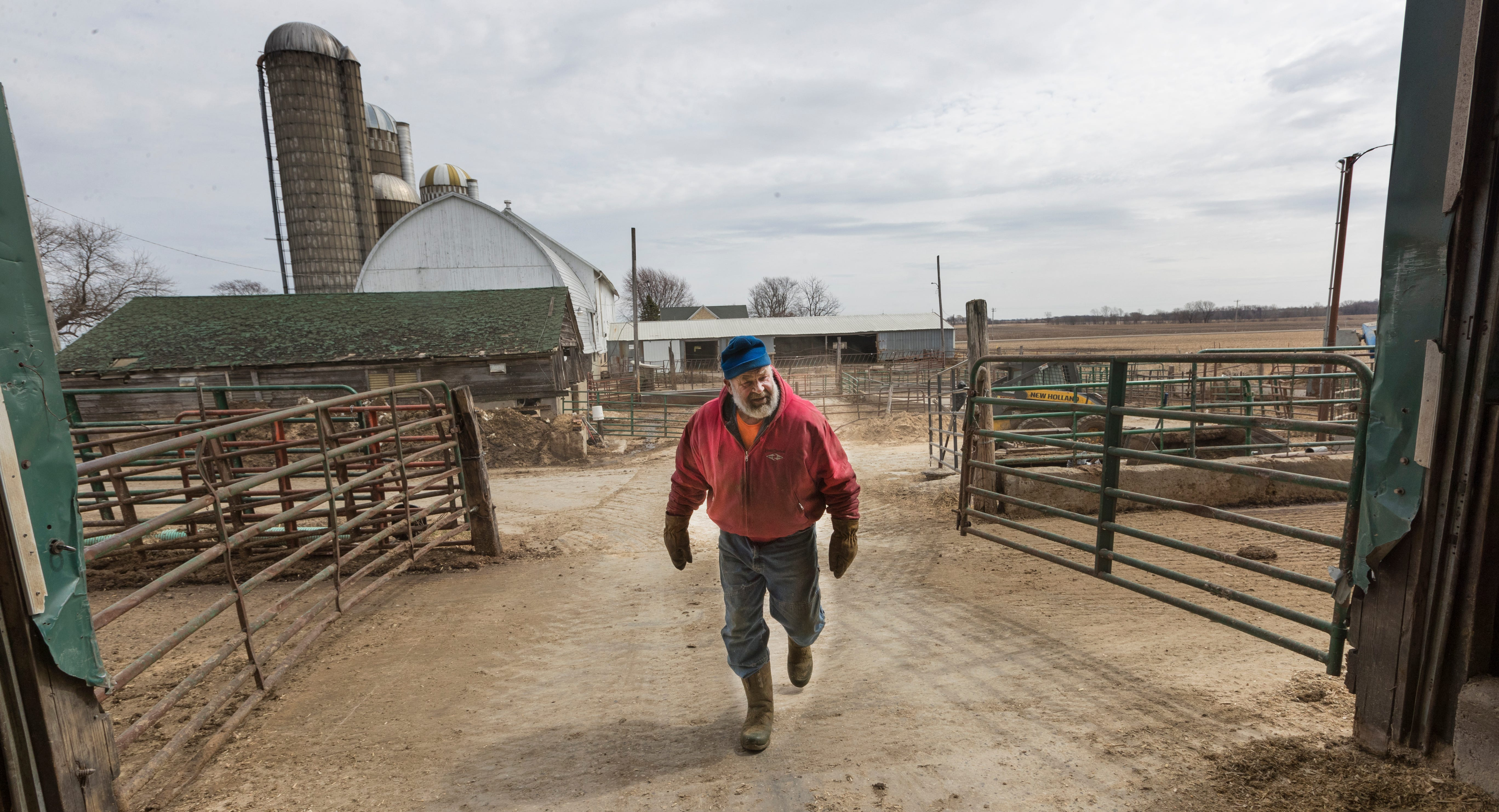 Clem Mess bought Mesa Farms in 1971 after returning from the Vietnam War. Last year, the farm only had about $19,000 in net income.