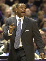 Doc Rivers led the Magic into Milwaukee for the first round of the NBA playoffs in 2001.