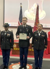 PV2 Ethan Wooten recently graduated from Advanced Individual Trainingas an Allied Trade Specialist with the United States Army in Fort Lee, Virginia. Wooten was presented the U.S. Army Achievement Medal for being the only Distinguished Honor Graduate in his MOS (military occupational specialty). To receive this prestigious honor, trainees must maintain a 95 percentor higher average throughout the entire training course. Wooten graduated top of his class with a 99 percent. Wooten is the son of Amanda and David Wooten of Gassville.