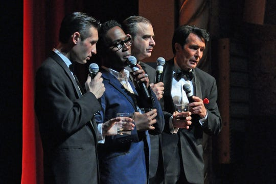 """Named best show of the year by """"Broadway World,""""Sandy Hackett's Rat Pack Showis a tribute to a group that was king of the Vegas Strip in the '60s."""