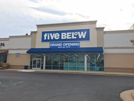 Five Below opens in Monroe on Friday, April 26.