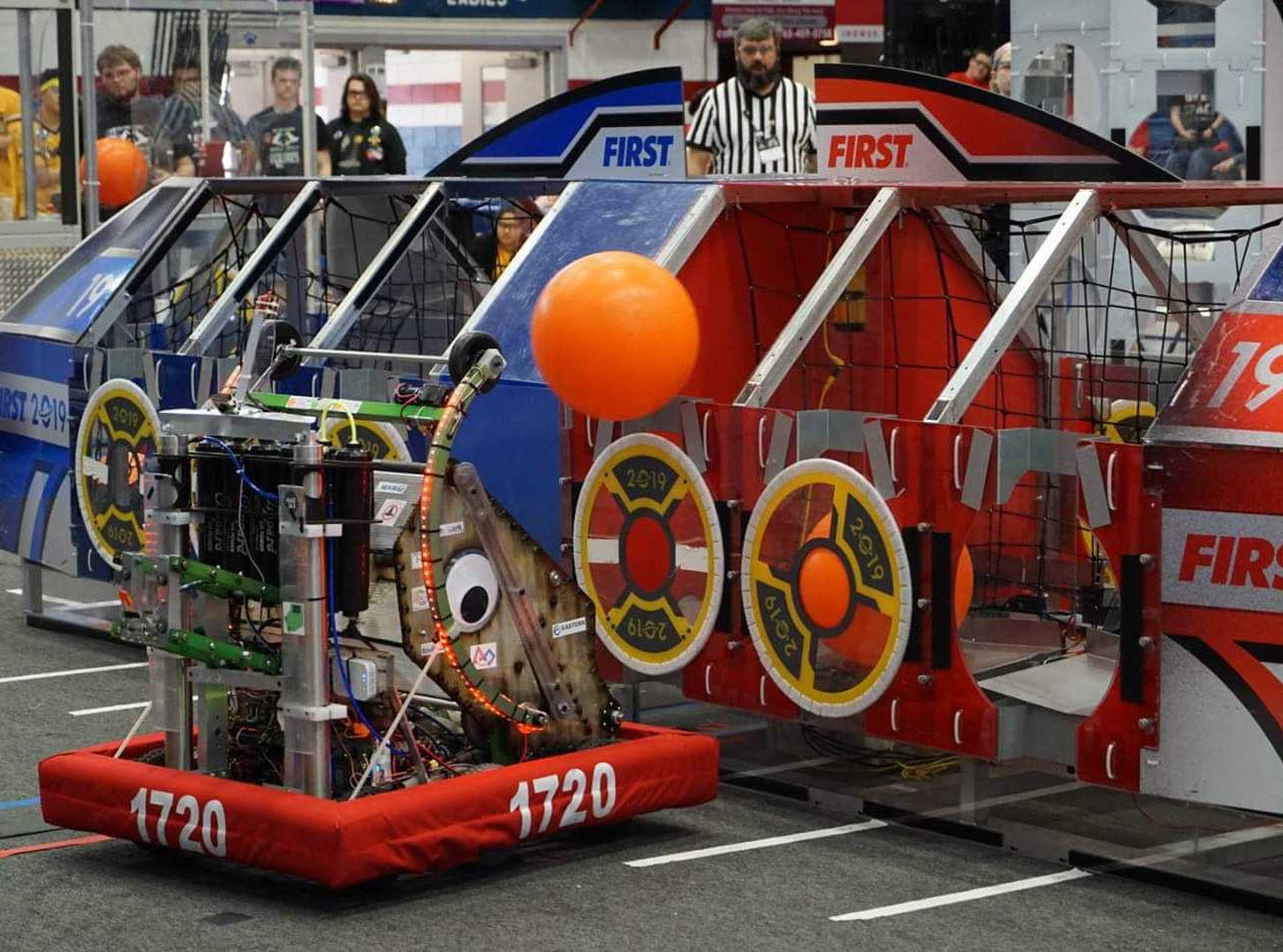 Local robotics Team 1720, The PhyXTGears, will take its robot, Space Walrus, to Detroit, Mich for the FIRST World Championship competition.