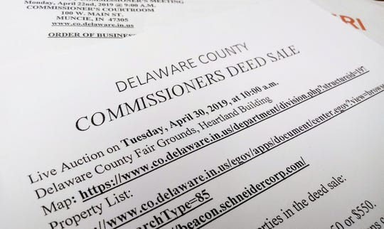 Commissioners deed sale