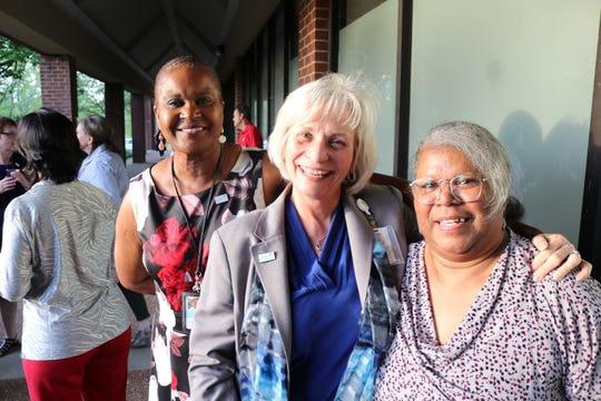 Dorothy Bullard, Cindy Siler and Gerri Amos pose for a photo.