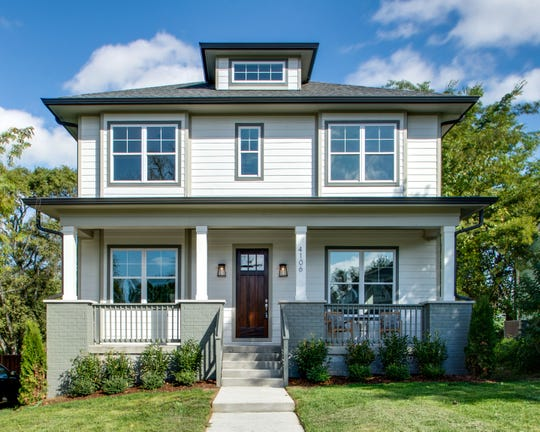 This listing at 4106 Idaho Avenue in Brentwood is a good example of how a home can have serious curb appeal. Broker Charlie Neese says things like repainting the front door and the trim can make a resale home stand out among its competition.