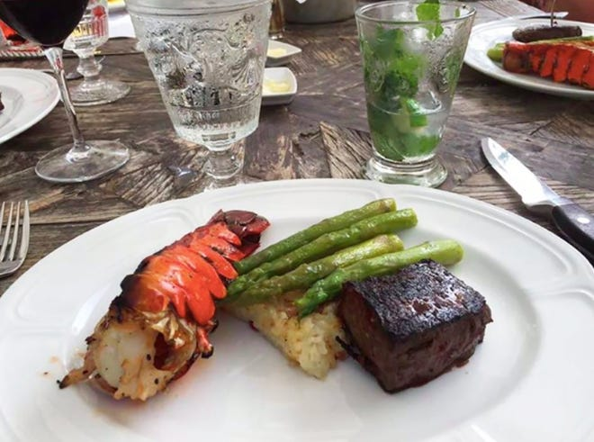 Starting Wednesday, April 24, The Continental restaurant on Third Street South in downtown Naples has a two-course steak and lobster menu available 5 to 10 p.m. every Wednesday.