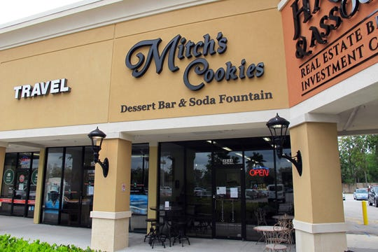 Mitch's Cookies Dessert Bar & Soda Fountain, which creates ice cream sundaes atop Mitch's popular local cookies, recently relaunched in a new location in the corner of Kings Lake Square on Davis Boulevard in East Naples.