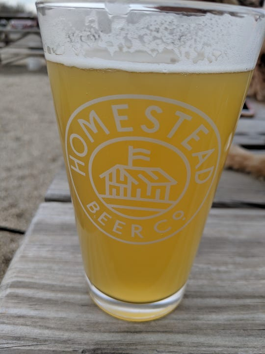"""Homestead's Engine No. 6, a dry smooth IPA with a hint of a citrus finish. The Brew Crew described it as """"great for a refreshing spring IPA."""""""