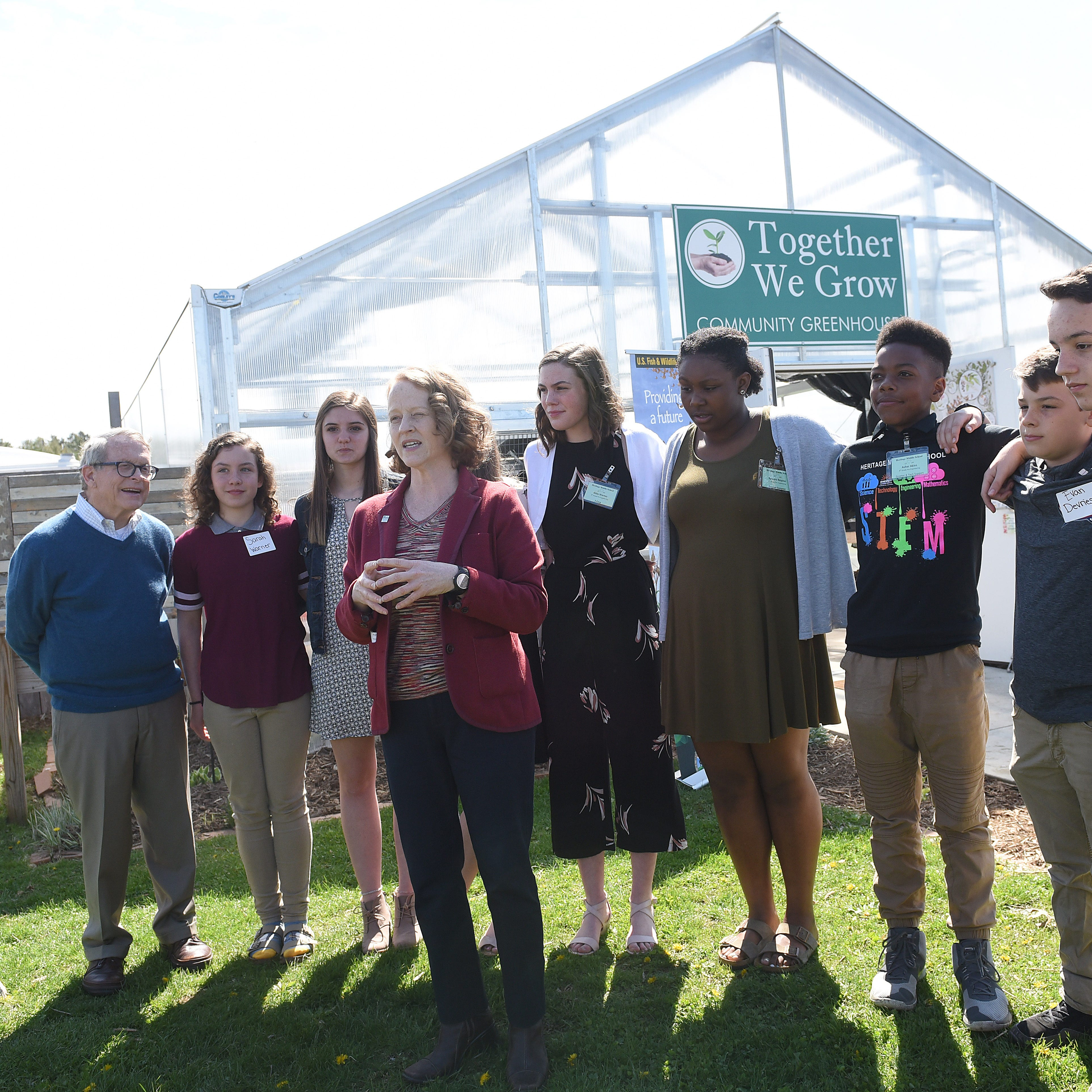 Newark City Schools take center stage for Ohio's Earth Day