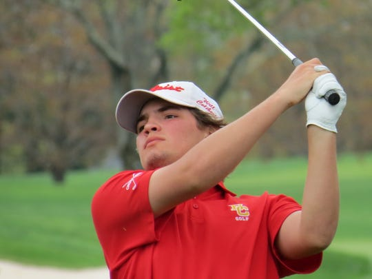 Will Celiberti led Bergen Catholic to the team title at the Blue Devil Invitational at Echo Lake Country Club in Westfield on Monday, April 22, 2019.
