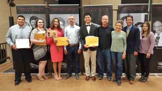 Loving High School seniors received scholarships during the annual scholarship night awards.