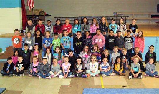 Sierra Elementary had 60 students qualify for Alamogordo Kiwanis Club BUG Honor Roll.