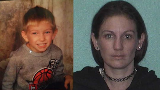 Freddie Drake and Arlene Drake (leftto right). An Ambre Alert was issued for the six-year-old at 4 a.m. Monday April 22.