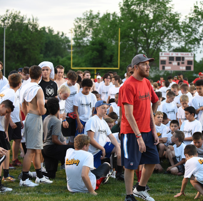 10th annual Tim Shaw Football Camp scheduled for May 31