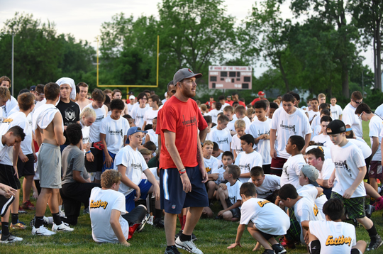 This year will mark the 10th consecutive year of the Tim Shaw football camp at Clarenceville.