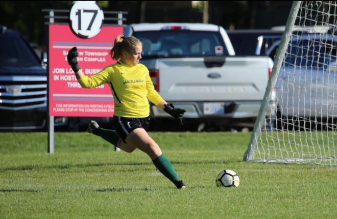 Novi goalkeeper Abbey Pheiffer has shut out five straight opponents.